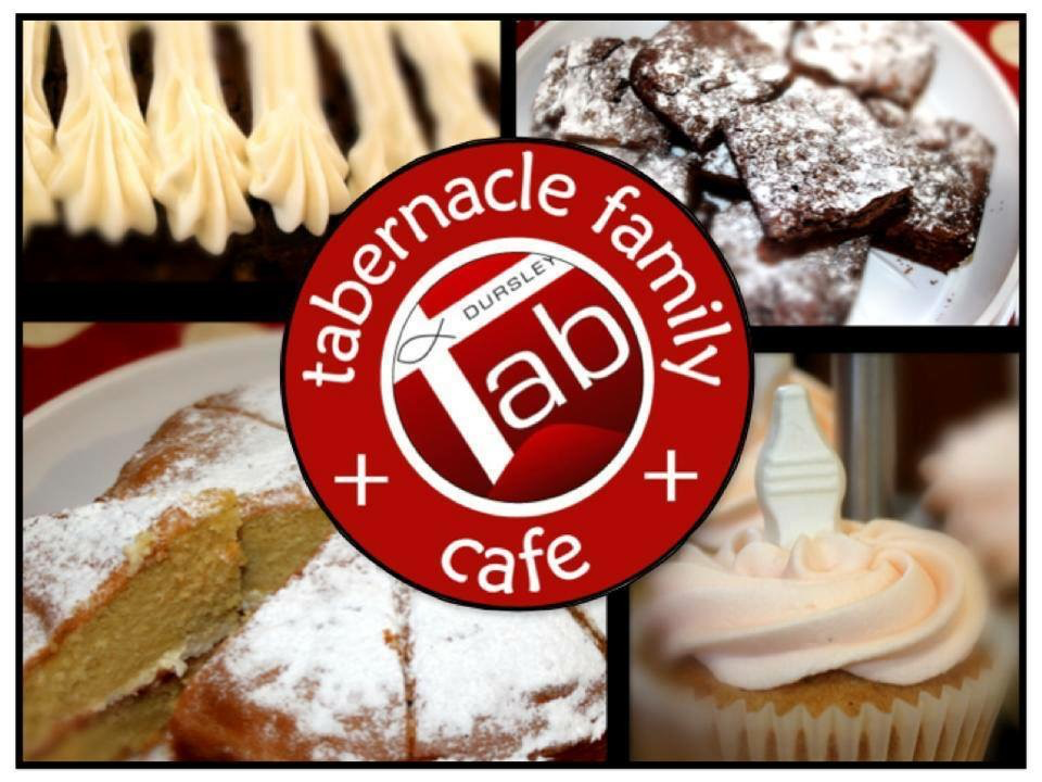 Tab Family Cafe post card